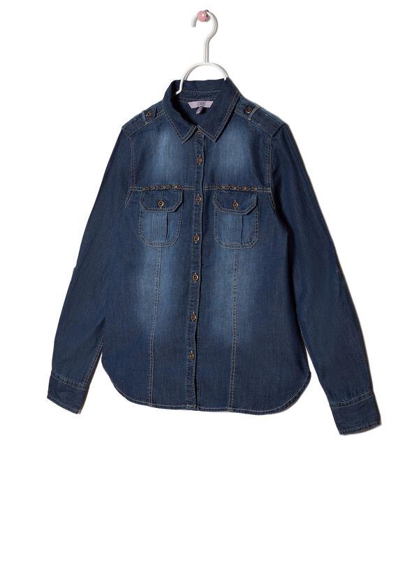 Denim shirt in chambray | OVS