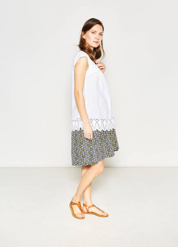 MUM blouse with openwork design | OVS