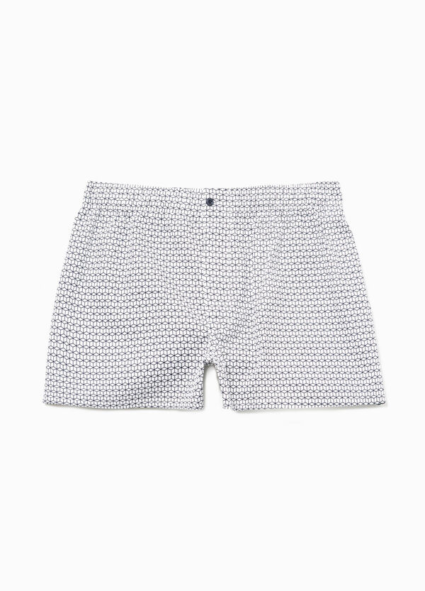 Boxer shorts in 100% cotton with geometric pattern | OVS