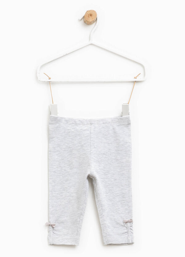 Cotton trousers with bow | OVS
