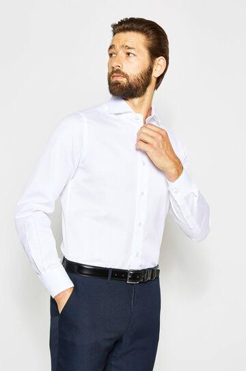 Camicia formale slim polsini regolabili