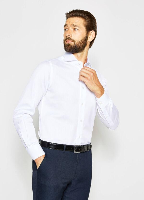 Camicia formale slim polsini regolabili | OVS