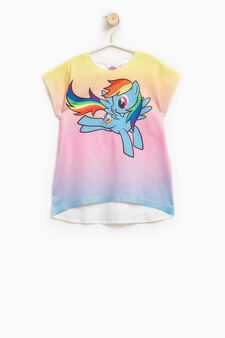 Stretch T-shirt with My Little Pony print, Multicolour, hi-res