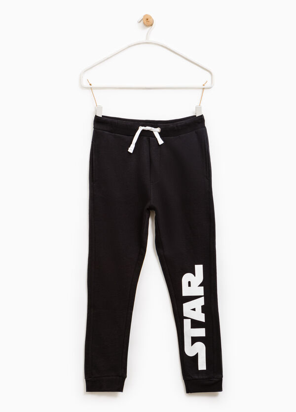 Cotton Star Wars joggers in 100% cotton   OVS