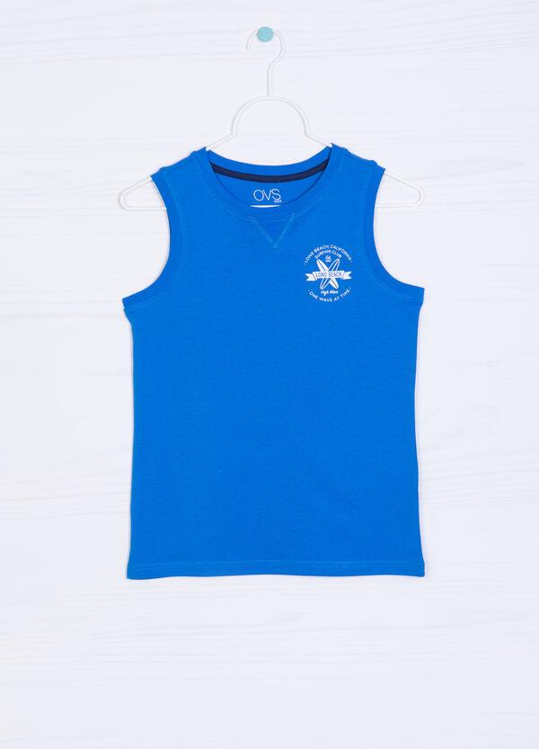 Solid colour 100% cotton vest | OVS