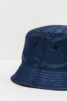 Solid colour fishing hat, Navy Blue, hi-res