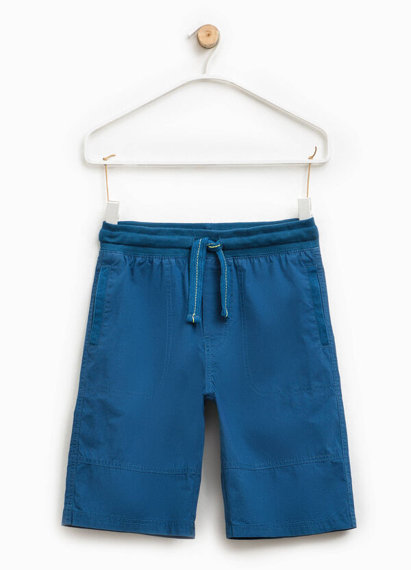 Cotton Bermuda shorts with pockets | OVS