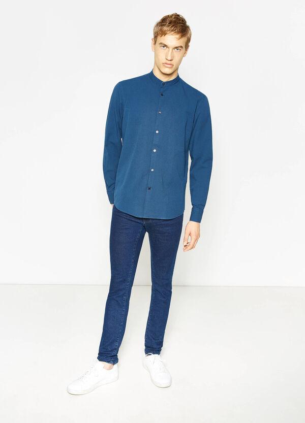 100% cotton striped casual shirt   OVS