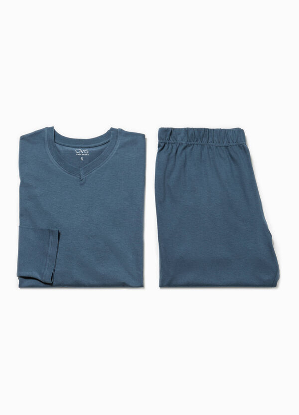 Solid colour 100% cotton pyjamas | OVS