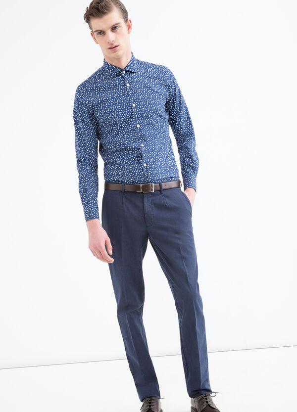 Camicia cotone floreale Rumford   OVS