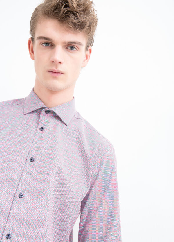 Slim-fit cotton shirt   OVS