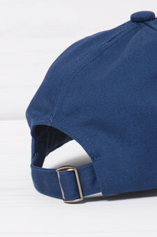 Cotton baseball cap., Navy Blue, hi-res