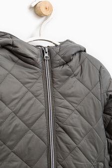 Hooded jacket, Grey, hi-res