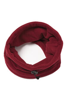 Loop scarf with drawstring, Claret Red, hi-res