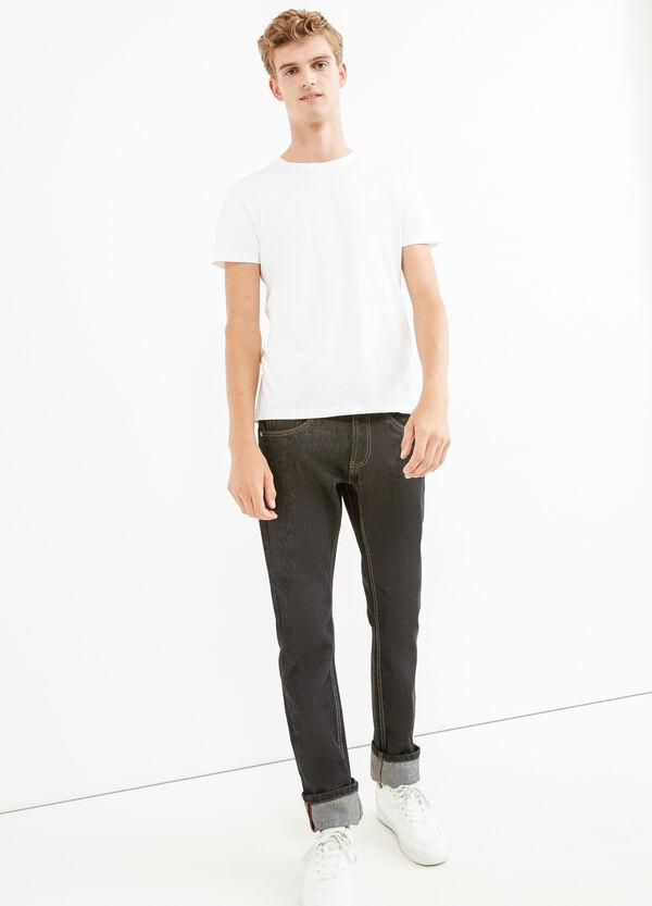 Jeans straight fit con risvolto | OVS