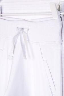 100% cotton joggers, White, hi-res
