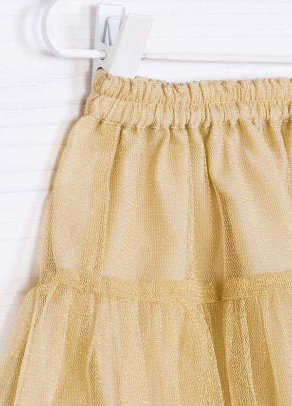 Flounced skirt in tulle | OVS