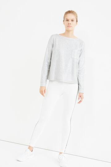 OVS Active Sport Training sweatshirt, Grey, hi-res