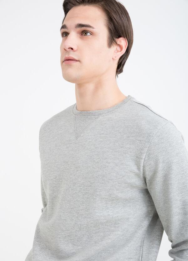 100% cotton mélange sweatshirt | OVS