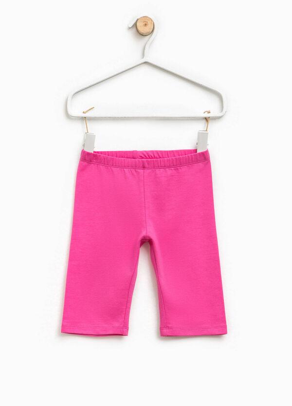 Stretch cotton Bermuda shorts   OVS