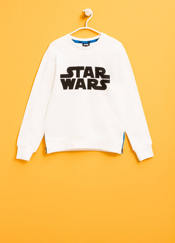 Cotton sweatshirt with Star Wars print | OVS