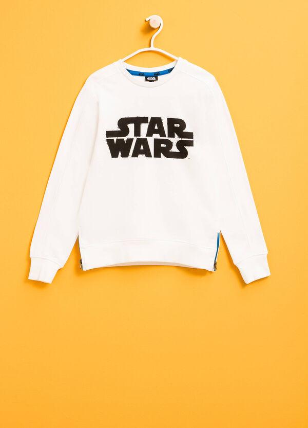 Felpa in cotone con stampa Star Wars | OVS