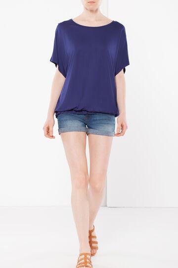 T-shirt kimono, Blu navy, hi-res