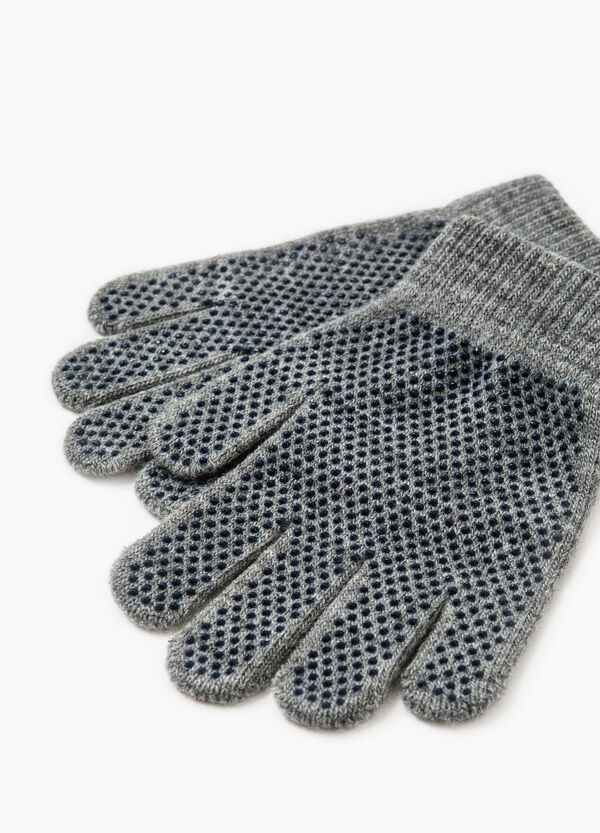 Solid colour non-slip gloves | OVS