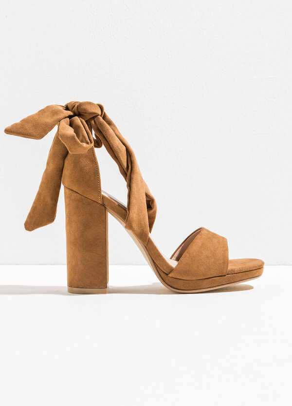 Sandals with chunky heel | OVS