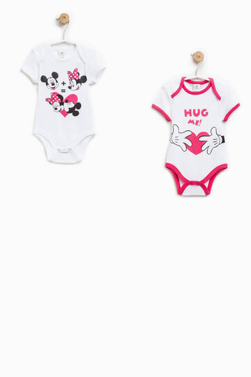 Set due body in cotone motivo Minnie