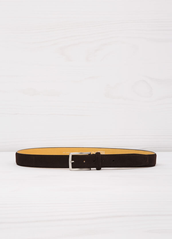 Real suede belt | OVS