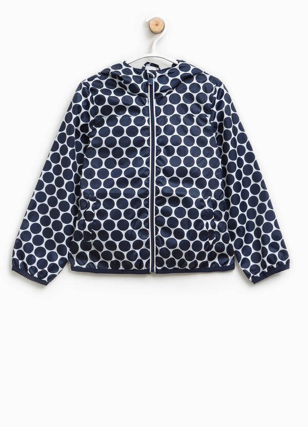 Patterned jacket with hood | OVS