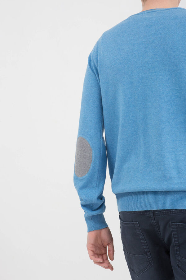 100% cotton pullover with patches | OVS