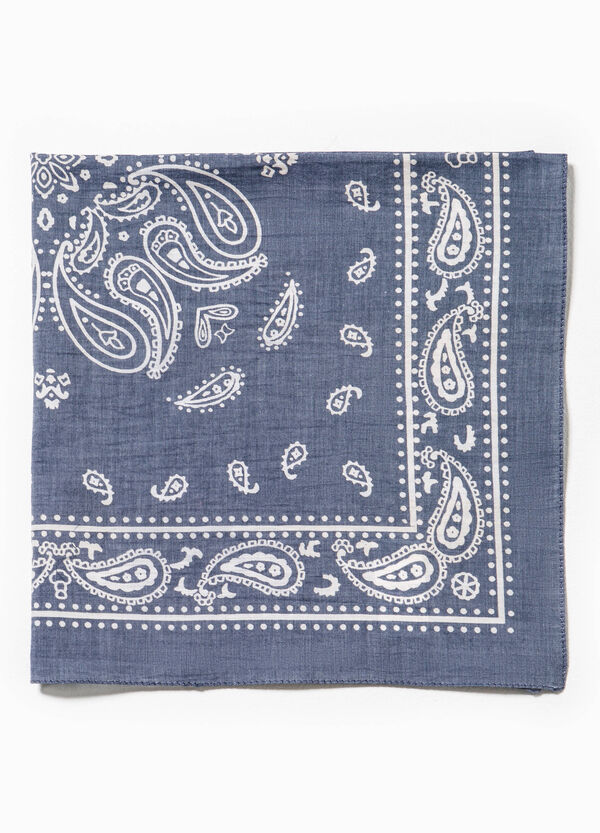 Cotton scarf with paisley print | OVS