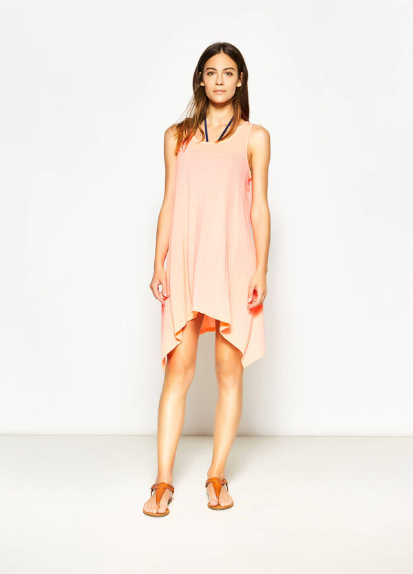 Sleeveless asymmetric kaftan | OVS