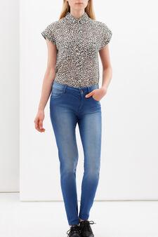 Jeans stretch skinny fit, Lavaggio medio, hi-res