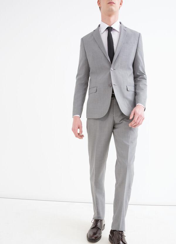 Solid colour elegant suit in slim fit | OVS