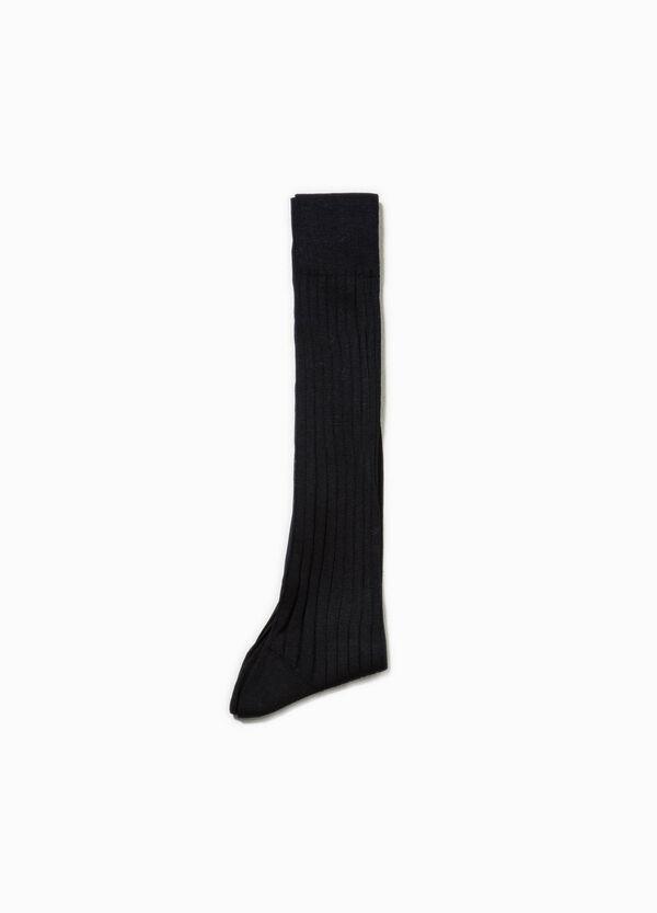 Calcetines largos con trama en canalé | OVS
