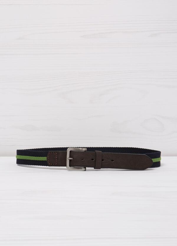 Cintura con inserti similpelle | OVS