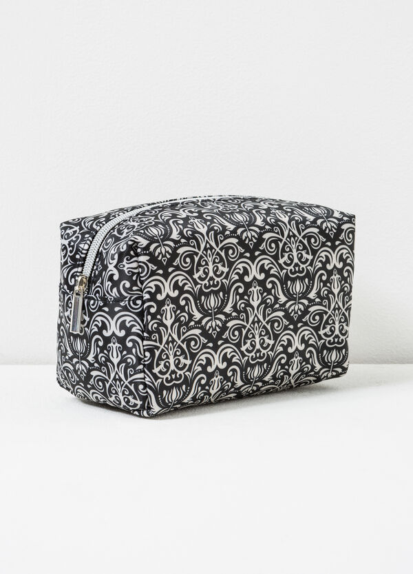Damask pattern makeup bag | OVS