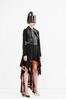 Foulard skirt, Jean Paul Gaultier for OVS, Black, hi-res