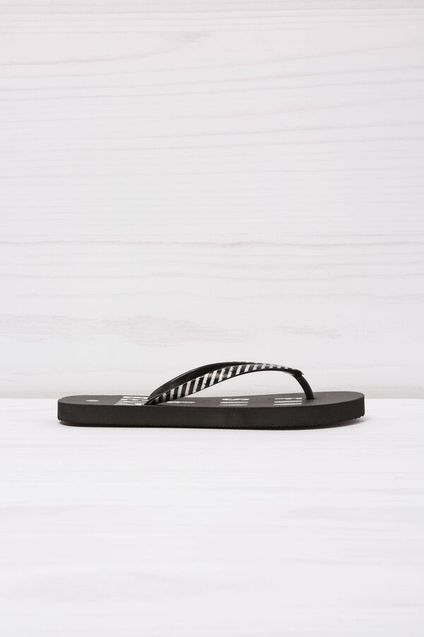 Printed thong sandals | OVS