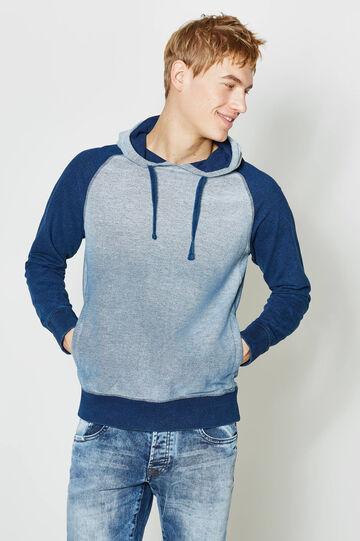 Soft cotton hoodie, Soft Blue, hi-res
