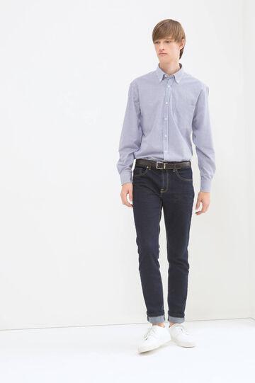 Camicia regular fit a quadretti