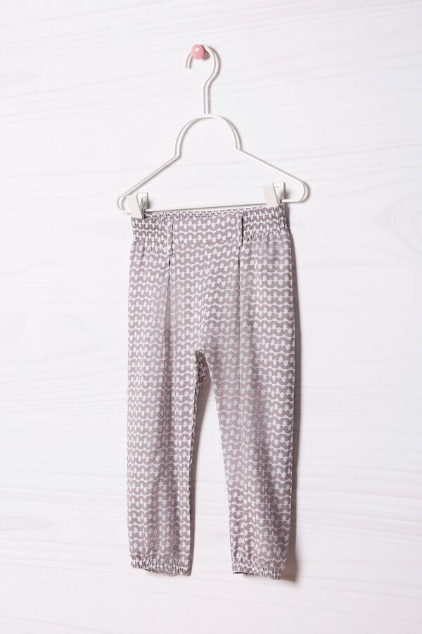 Pantaloni viscosa vita elasticata | OVS