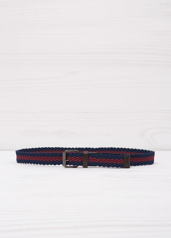 Two-tone woven belt | OVS