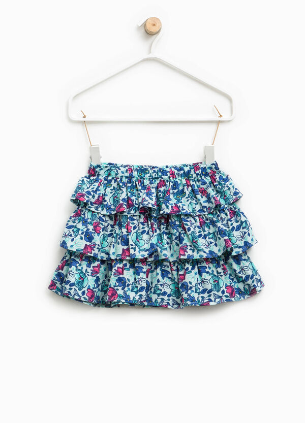 Skirt with flounced motif | OVS
