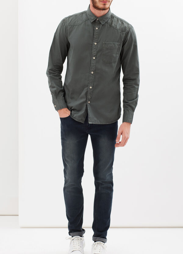 G&H 100% cotton shirt | OVS