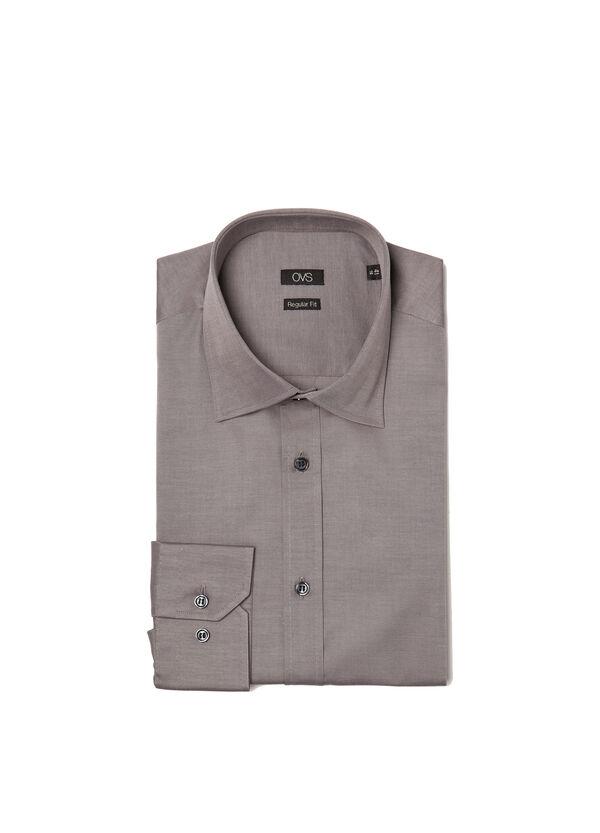 Plain, regular-fit shirt | OVS