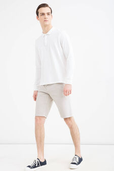 G&H stretch Bermuda shorts with drawstring, Light Grey, hi-res